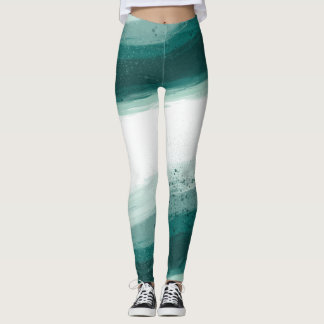 Joyful painted leggings