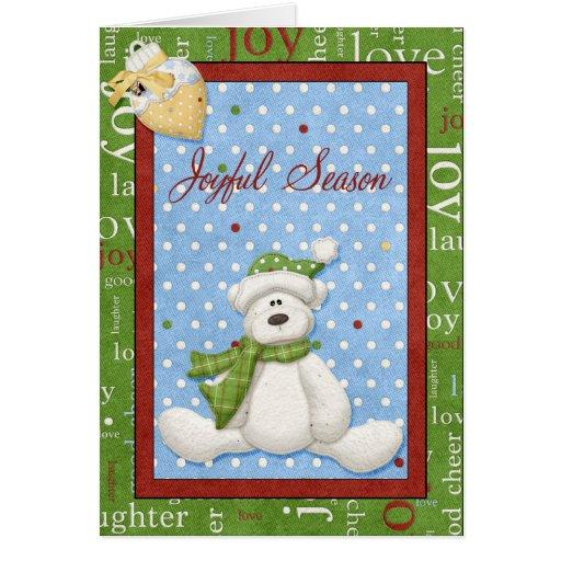 Joyful Season Greeting Card