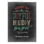 Joyful Season Holiday Greeting Card