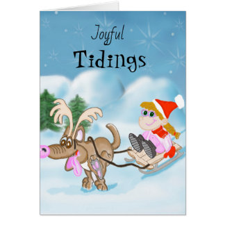 Joyful Tidings Christmas Card