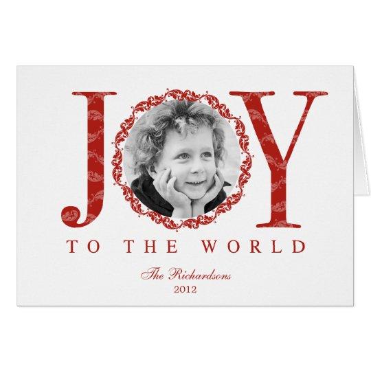 Joyfully Framed Holiday Photo Cards