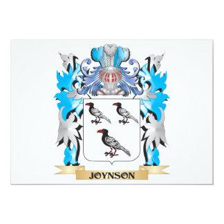 Joynson Coat of Arms - Family Crest Card