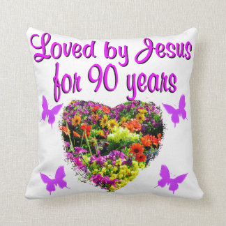 JOYOUS 90 YR OLD CUSHION