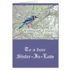 Joyous Easter Blue Jay Songbird Card