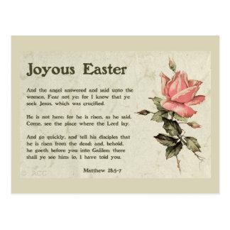 Joyous Easter Postcard