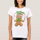 Joyous Gingerbread Man T-Shirt