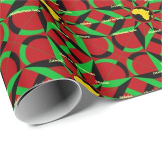 Joyous Kwanzaa Wrapping Paper