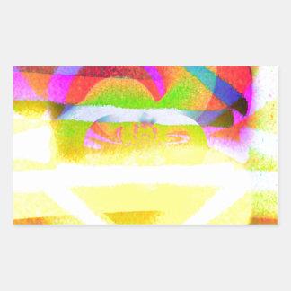 Joyous Rectangular Sticker