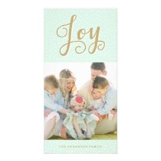 Joyous Snowfall | Holiday Photo Cards