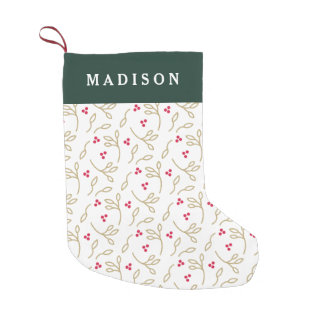 Joyous Tradition Small Christmas Stocking