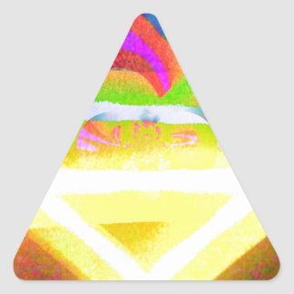 Joyous Triangle Sticker