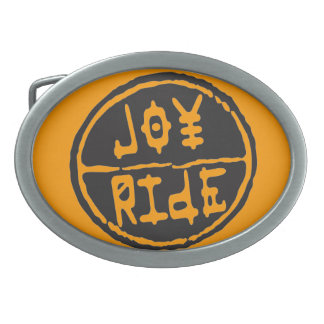 Joyride belt buckle