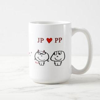 JP heart PP UK Mug