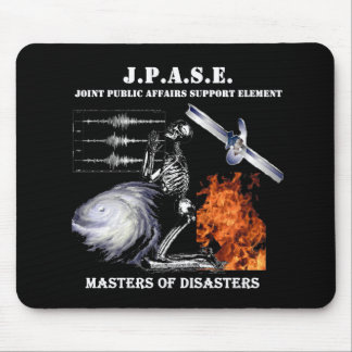 JPASE Masters of Disasters mousepad