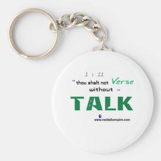Jpeg - Shall not Verse Key Chain