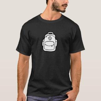 JQ Black Just Backpack T-Shirt