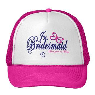 Jr. Bridesmaid/ Butterfly Theme Cap