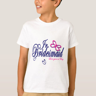 Jr. Bridesmaid/ Butterfly Theme Shirt