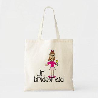 Jr. Bridesmaid Gifts and Favors Budget Tote Bag