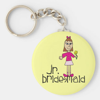 Jr. Bridesmaid Gifts and Favors Keychain