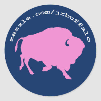 JR Buffalo shop site address on stickers