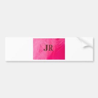 JR Fashion Bumper Sticker