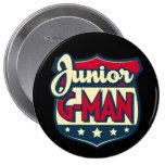 Jr. G-Man Button