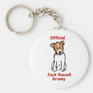 JR Granny Basic Round Button Key Ring