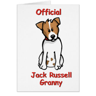 JR Granny Greeting Card