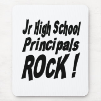 Jr High School Principals Rock! Mousepad