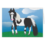 JR. Paint horse Greeting Cards