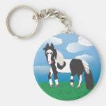JR. Paint horse Keychains