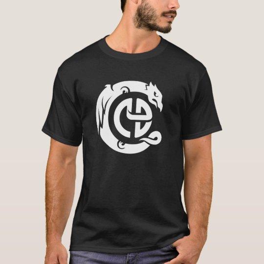 JRCD logo shirt, white logo T-Shirt