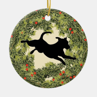 JRT Wreath Christmas Ornament