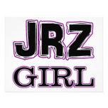 JRZ girl Custom Invitations