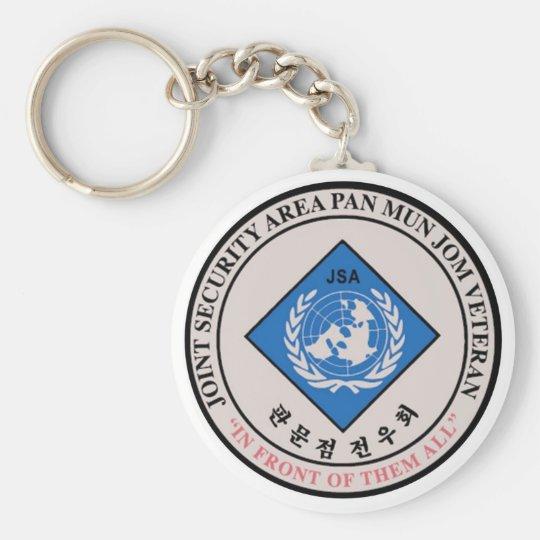 JSA Veteran Key Ring