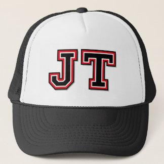 'JT' Monogram Trucker Hat