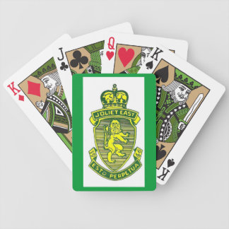 JTHS East Logo Deck Bicycle Playing Cards