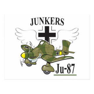 ju-87 stuka postcard