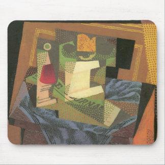 Juan Gris - Fruit bowl on a table cloth Mouse Pad