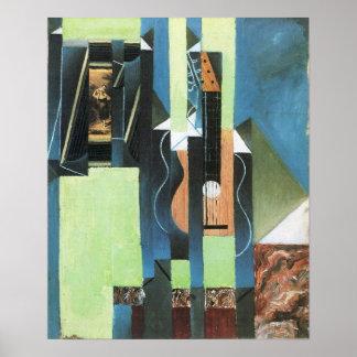 Juan Gris - Guitar Poster