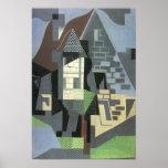 Juan Gris - Houses in Beaulieu Posters