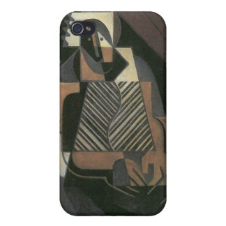 Juan Gris - Sitting peasant woman Covers For iPhone 4
