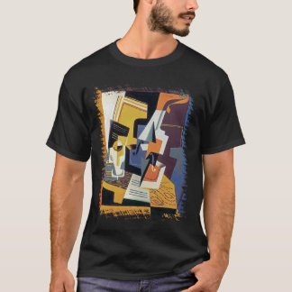 Juan Gris - Violin and Glass - Abstract Art T-Shirt