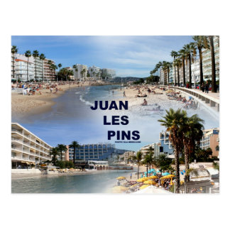 Juan Les Pins Postcard