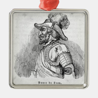 Juan Ponce de Leon Christmas Ornament