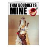 Juanita Weasel Wedding Card