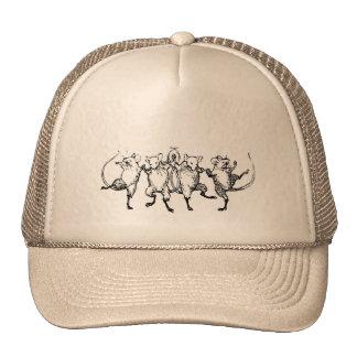 Jubilant Mice Trucker Hats