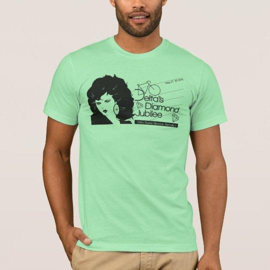 Jubilee: black screenprint T-Shirt