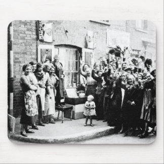 Jubilee Decoration in the East End Mouse Mat